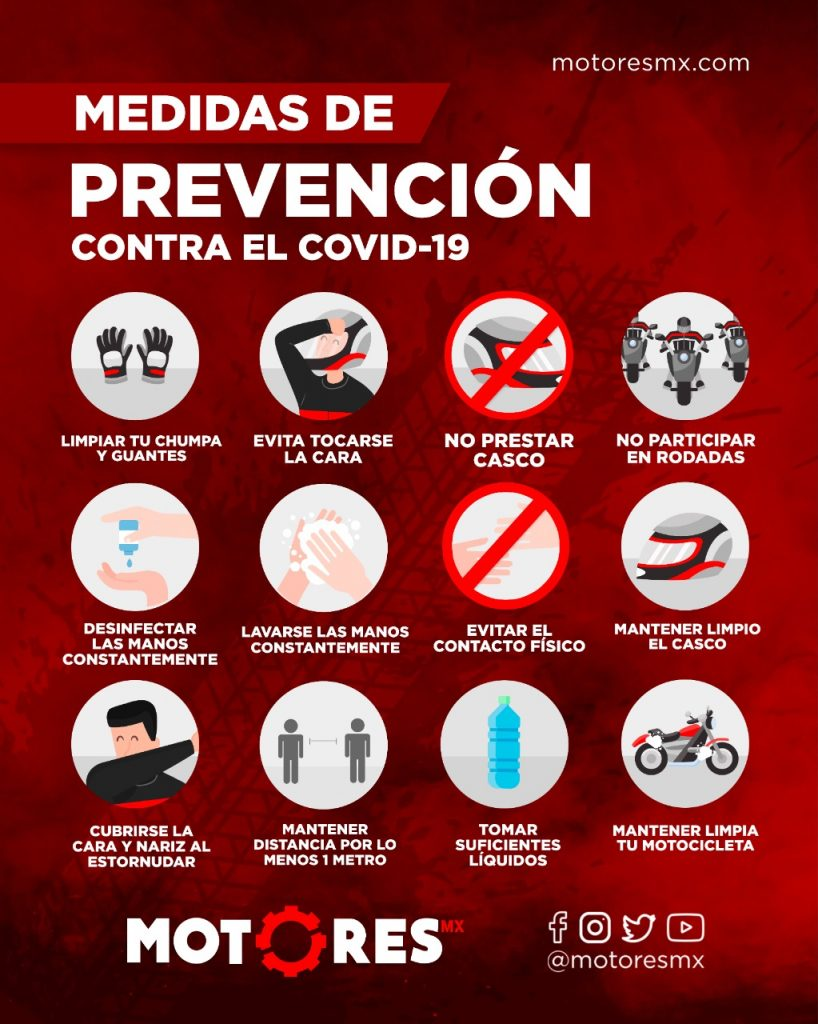 motociclistas coronavirus