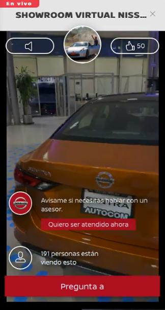 Nissan en Vivo